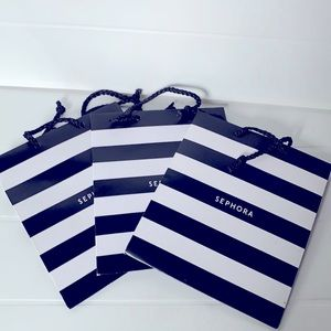 3 Sephora Gift Bags Small Totes